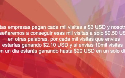 Curso de CPM: Ganar dinero por Internet sin perseguir a nadie? $50 USD Diarios