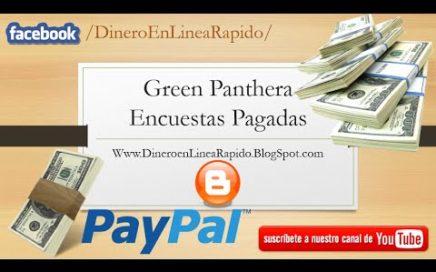 Gana dinero con Green Panthera | Encuestas Remuneradas