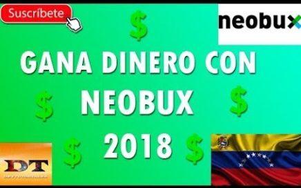 Gana dinero con Neobux 2018 - Dey Tutoriales VZLA
