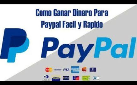 Gana Dinero PayPal Android 2018, (Si PAGAN)