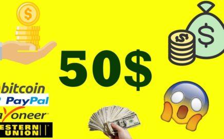 Ganar 50$ dolares en INTERNET 2018 (agosto) SIN REFERIDOS