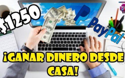 GANAR DINERO en INTERNET desde CASA fácilmente | Método REAL y CONFIABLE | PRUEBAS DE PAGO