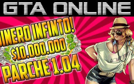 GTA V    GTA ONLINE    TRUCO PARA CONSEGUIR MUCHO DINERO ONLINE    DESPUES DEL PARCHE 1.04    Glitch