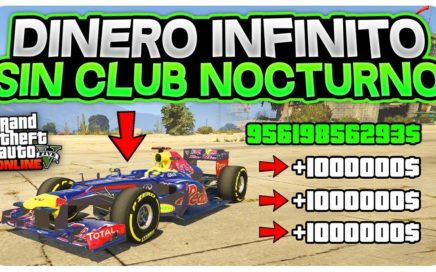 INCREIBLE! *DINERO INFINITO SIN CLUB* +1.000.000$ CADA 3 MIN! (GTA 5 ONLINE TRUCO 1.44)