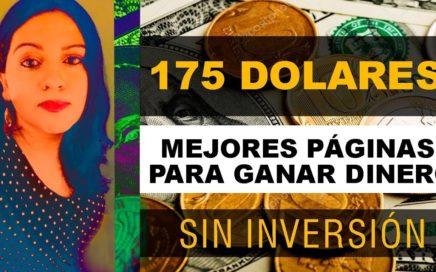 LAS MEJORES PAGINAS PARA GANAR DINERO GRATIS l PRUEBAS DE PAGO 175 DOLARES