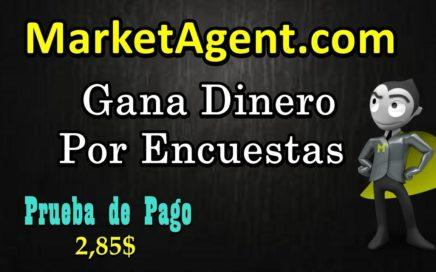 Marketagent - Gana Dinero Por Encuestas - Prueba de Pago 2.8$   1.5$ Por Registro