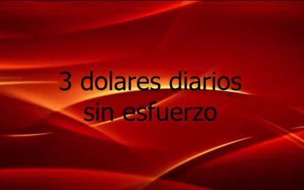 MAS DE 3 dolares por dia, /facil/  wildspark