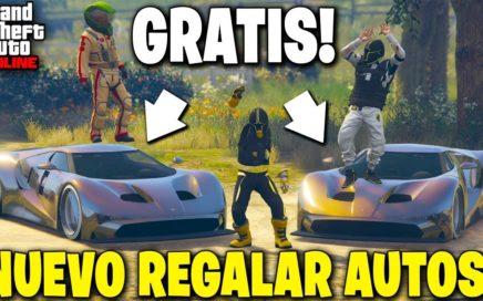 NUEVO! GTA 5 ONLINE AUTOS GRATIS! *REGALAR AUTOS A AMIGOS* GTA V 1.44 BRUTAL!