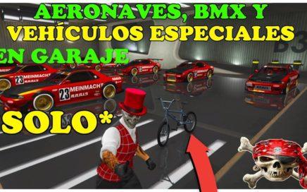 (PARCHEADO) NUEVO TRUCO GTA 5 ON LINE *SOLO* 1.44 COMO METER AERONAVES, VHLS ESPECIALES Y BMX.