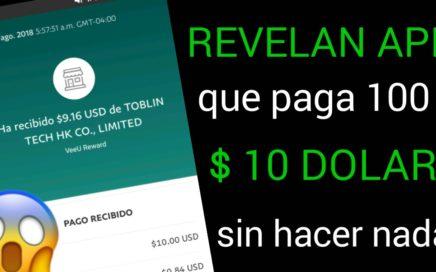 REVELAN APP QUE PAGA Al 100 % MÁS DINERO PARA PAYPAL 2018