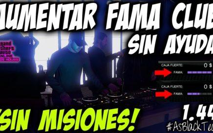 """*SOLO* - SIN AYUDA - AUMENTAR LA """"FAMA"""" DE NUESTRO CLUB - GTA 5 - SIN MISIONES - (PS4 - XB1 - PC)"""