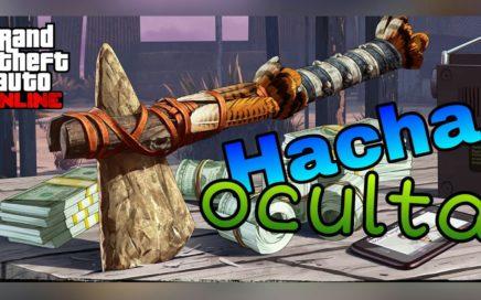 TUTORIAL: Conseguir nueva hacha oculta + 250.000$!!! Easter Egg!!! Gta 5 Online (ps4/xbox one/pc)