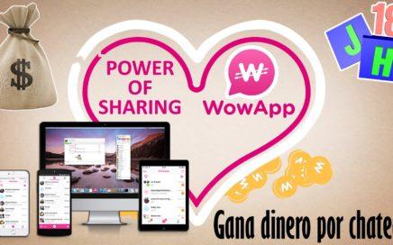WoWApp | Gana dinero por chatear | APPs GANAR DINERO