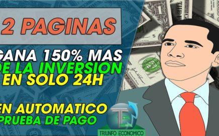 2 PAGINAS PARA GARAR 50% MAS EN 24HORAS +scam no pago
