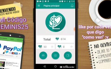 APP PARA GANAR DINERO EN PAYPAL 2018 Android