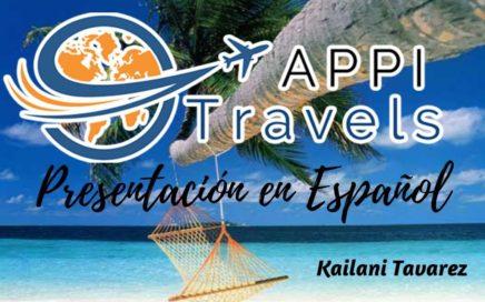 Appi Travels Presentación en Español - Kailani Tavarez