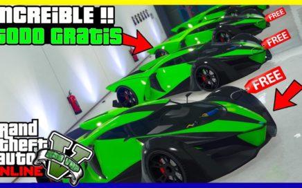 """APURATE!! COMPRAR TODOS LOS AUTOS GRATIS EN """"GTA V ONLINE"""" SUPER FACIL"""