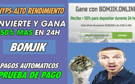 BONJIK | INVIERTE Y GANA 50% ( SCAM NO INVERTIR  TODOS LOS DEPOSITO SE BORRARON)