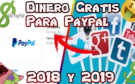 COMO GANAR 1000 DOLARES AL MES TOTALMENTE GRATIS PARA PAYPAL - 100% REAL OCTUBRE 2018