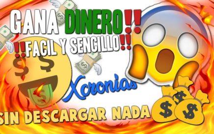 COMO GANAR DINERO PARA PAYPAL 2018 FACIL Y GRATIS!!!