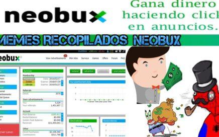 Como ganar dinero sin invertir en internet desde tu casa solo haciendo cliks y jugando en NeoBux