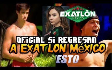 CONFIRMADO Ana lago Daniel Corral Y ernesto Cazares Regresan a Exatlon México Por un duelo.