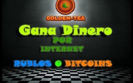 """Ganar Dinero por internet en RUBLOS """"PAYEER"""" Y  BITCOIN"""