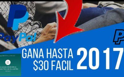 INCREÍBLE APP PARA GANAR 30 DÓLARES DIARIOS EN PAYPAL- Ganar dinero en PayPal Brutalmente 2018