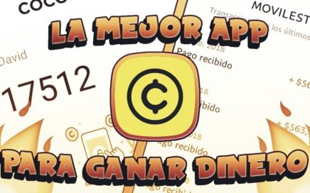 LA MEJOR APP PARA GANAR DINERO FACIL Y RAPIDO!!COCOIN!!