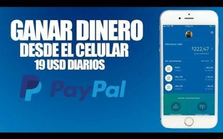 !La Unica Manera De Como Ganar Dinero Para Paypal 2018|Como Ganar Dinero En Paypal 100% Real No FakE