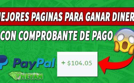 MEJORES PAGINAS PARA GANAR DINERO POR INTERNET (PAYPAL) SEPTIEMBRE 2018 - SORTEO DE 100 DOLARES!