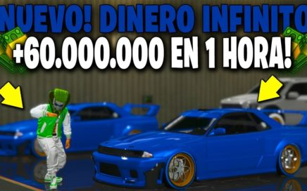 NUEVO! - DINERO INFINITO DUPLICAR AUTOS *MASIVO* GTA 5 ONLINE 1.45 DINERO SUPER RAPIDO