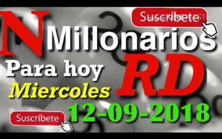Números para ganar hoy 12 septiembre del 2018-números para hoy millonariosrD