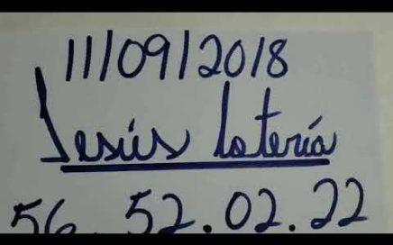 NÚMEROS PARA HOY 11/09/18 DE SEPTIEMBRE PARA TODAS LAS LOTERÍA !!!