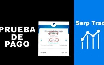 SERPTRADE PRUEBA DE PAGO A PAYPAL GANA DINERO  POR HACER BUSQUEDAS