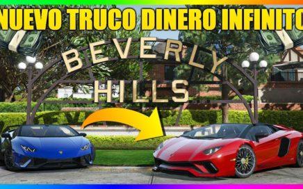 *SOLO 3 PASOS!* NUEVO TRUCO DINERO INFINITO FÁCIL! 1.44/1.45   GTA ONLINE