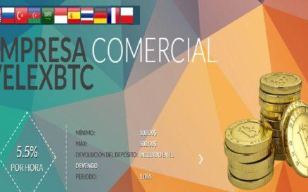 VELEXBTC PAGANDO 138% DE TU INVERSIÓN - PRUEBA DE PAGO $110.00  DOLARES