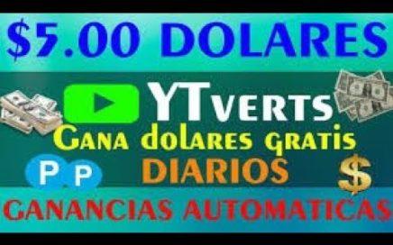 |YTverts| Gana Dinero Gratis Viendo Vídeos + Estrategia Automática |2018| °MisterCash°