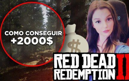 Cómo conseguir DINERO FÁCIL y RÁPIDO *+2.000$* TESORO   RED DEAD REDEMPTION 2