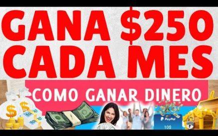 COMO GANAR $250 DOLARES AL MES EN PAYPAL CON LA MEJOR APP Y PAGINA DESDE EL CELULAR ANDROID 100%REAL