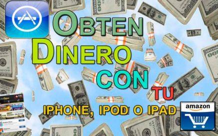 Como ganar dinero con el iphone, ipod o ipad GRATIS!! 100% legal