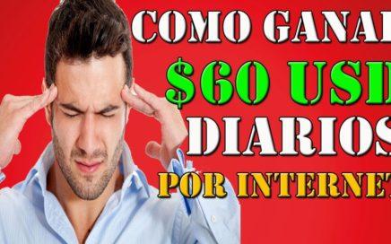 COMO GANAR MAS DE $60 DOLARES PARA PAYPAL Y BITCOIN 15 OCTUBRE 2018