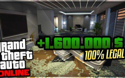 ¡CÓMO HACER 1.600.000 GTA$ LEGALES al día!   Maneras de ganar dinero GTA ONLINE