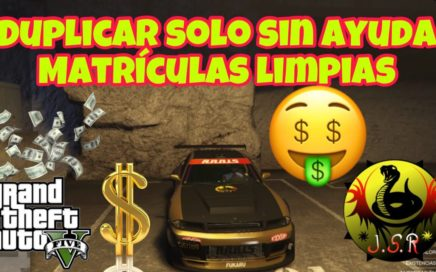 (Con TP,) Duplicar vehículos solo sin ayuda matrículas limpias GTA 5 PS4