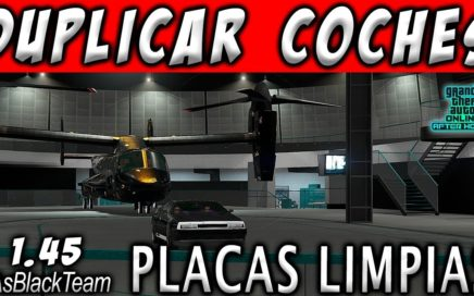 DUPLICAR COCHES MASIVAMENTE - | PLACAS LIMPIAS | - GTA V - SESIÓN INVITACIÓN - (PS4 - XBOX One)