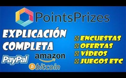 "POINTS PRIZES GANA ""GIFT CARD"" ""SALDO PAYPAL DE 20$"" Y BITCOIN CON 3000 PUNTOS ""TUTORIAL COMPLETO"
