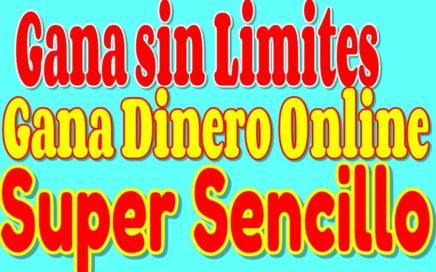#sinlimites Ganando sin Limites Genera Ingresos  La Manera de Ganar Dinero Online Facil  y Rapido