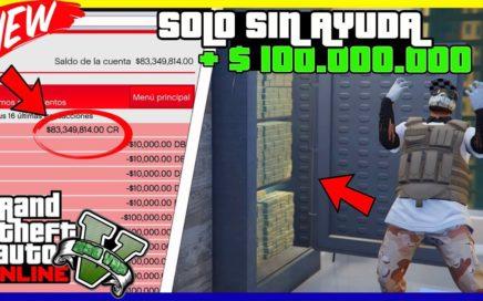 """*SOLO* ROCKSTAR NO TE DARA OTRA OPORTUNIDAD!! GANA $100.000.000 FACIL """"GTA V ONLINE"""" 1.45"""