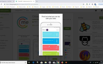 CitizenMe ¿Que es y como funciona? Noviembre 2018  / CitizenMe tutorial completo