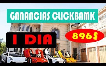 como ganar dinero con Clickbank   ( 896$ en 1 Día)